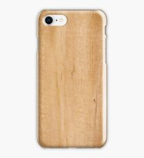 Yellow wood texture iPhone Case/Skin