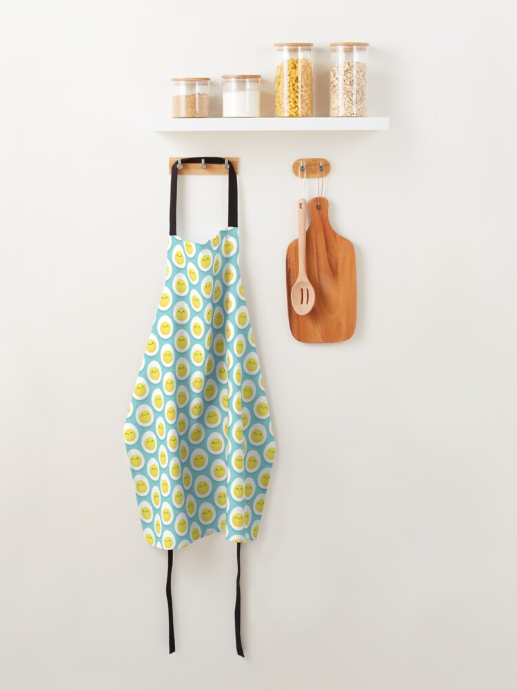 Alternate view of Cute hard boiled eggs Apron