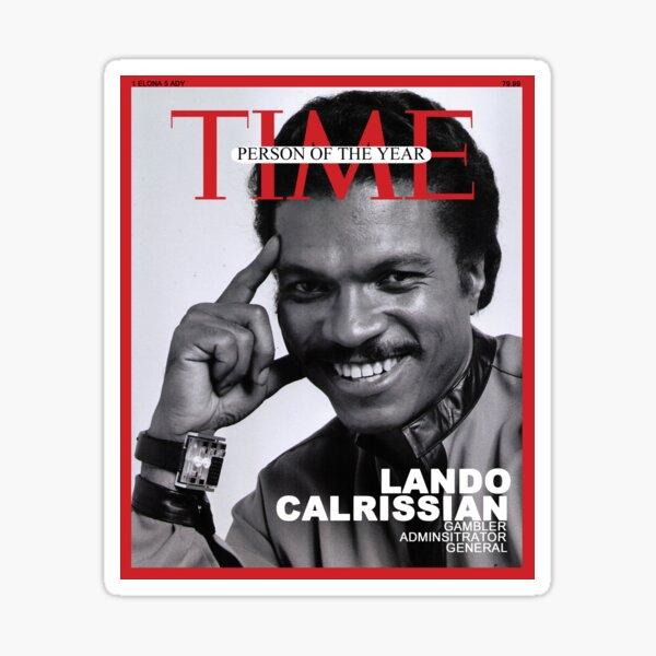 Lando Calrissian - Time Person of the Year Sticker