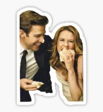 Jim And Pam Wedding.Jim And Pam Wedding Stickers Redbubble