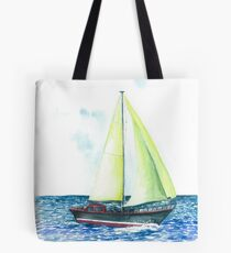 Yacht  Tote Bag