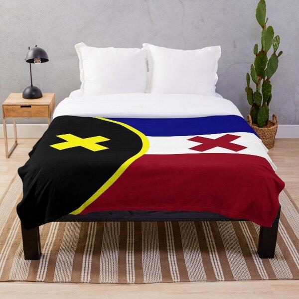l'manberg flag Throw Blanket