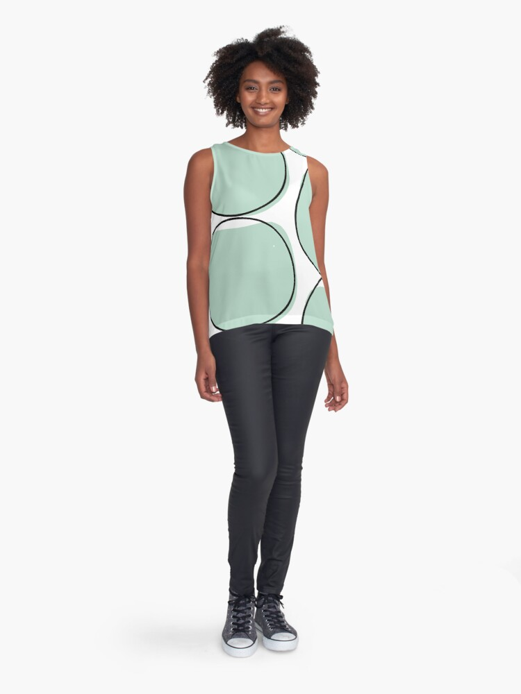 Alternate view of Blue Water Pond Sleeveless Top