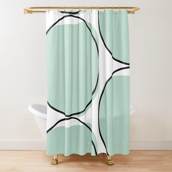 Blue Water Pond Shower Curtain