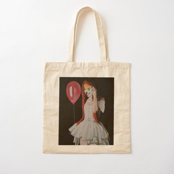 Clown Girl Cotton Tote Bag