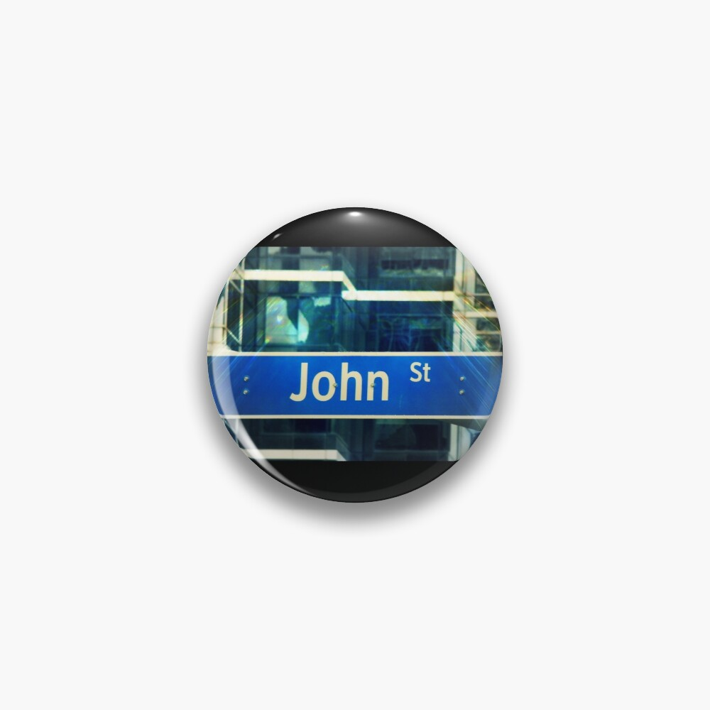 John, John mask, John sticker, John socks, John magnet, John mug  Pin