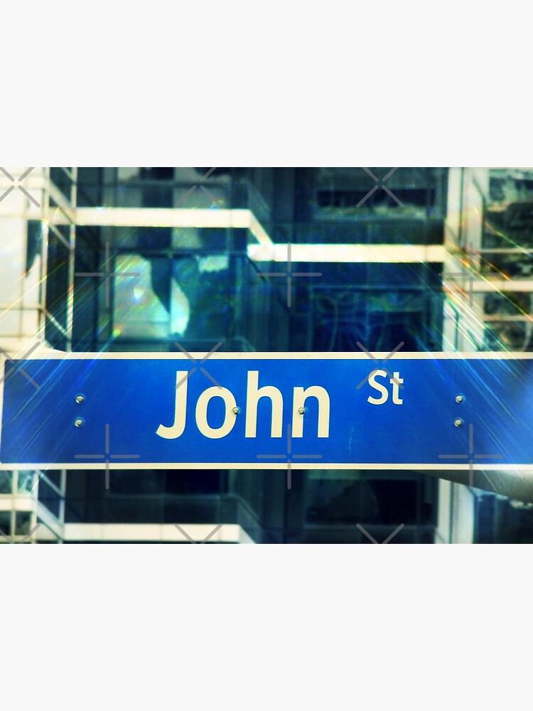 John, John mask, John sticker, John socks, John magnet, John mug  by PicsByMi