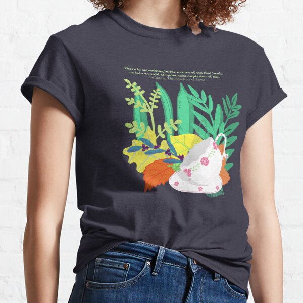Tea Nature Contemplation for Clothing Classic T-Shirt
