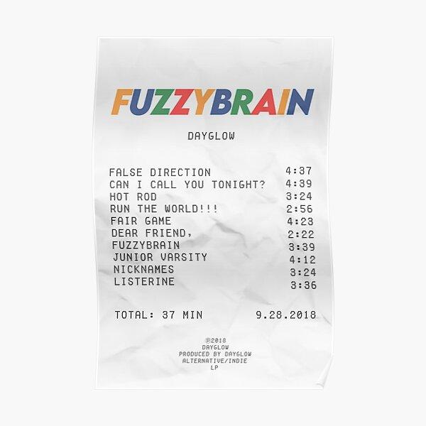 album receipt  Poster