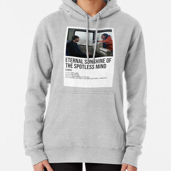 ETERNAL SUNSHINE OF THE SPOTLESS MIND train POSTER Pullover Hoodie