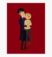 Put me down, Sherlock Photographic Print