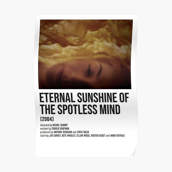 ETERNAL SUNSHINE OF THE SPOTLESS MIND yellow POSTER Poster