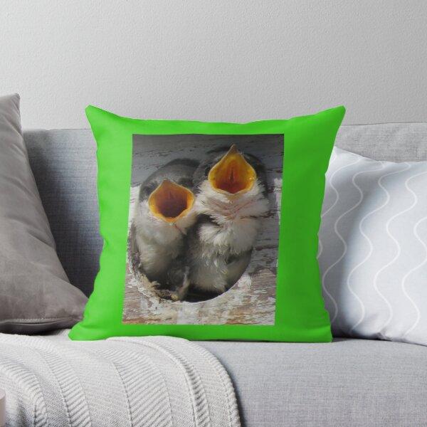 Say ahhhhh Throw Pillow