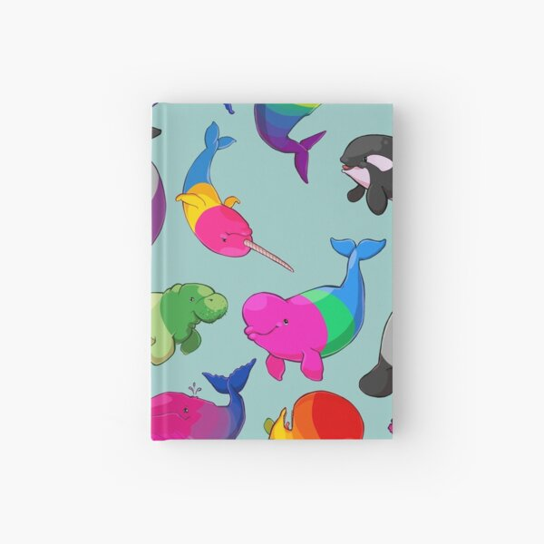 Sexuality Whales (And Aromanatee) Pattern Hardcover Journal