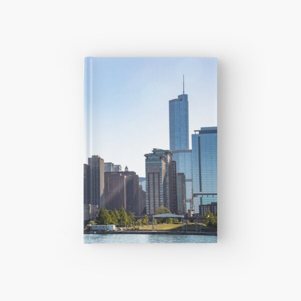 Reflective City Hardcover Journal