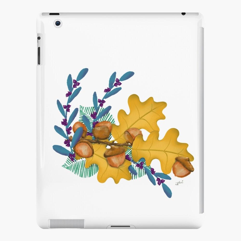 Autumn Leaves Acorn Delight  iPad Case & Skin