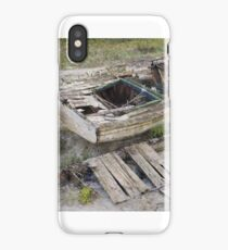 The silence of the time iPhone Case/Skin