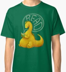 Even Dinosaurs Love to Read Classic T-Shirt