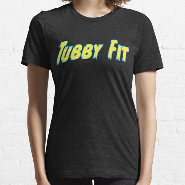 tubbyfit writing logo Essential T-Shirt