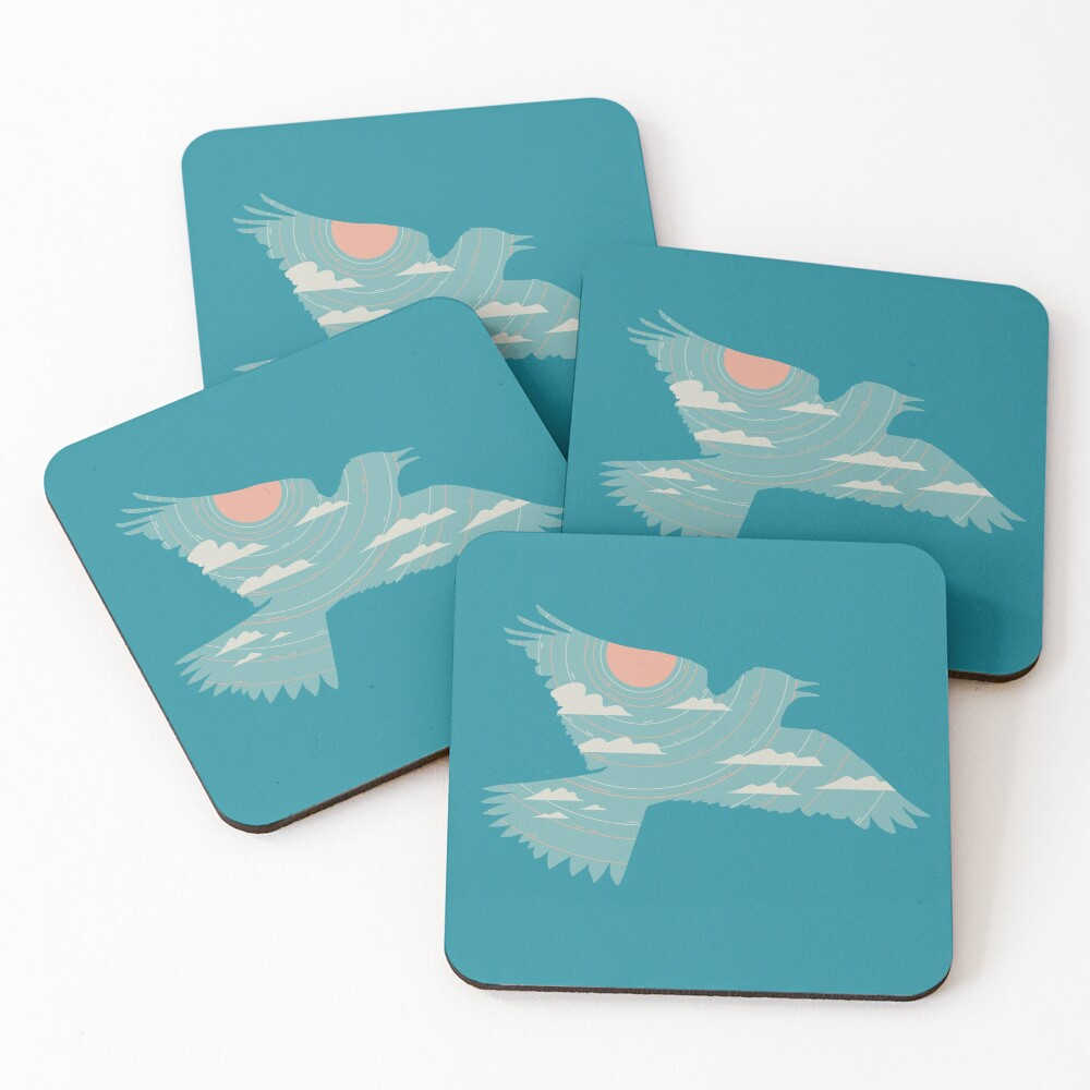Skylark Coasters (Set of 4)