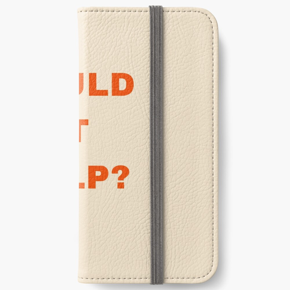 Would it help? iPhone Wallet