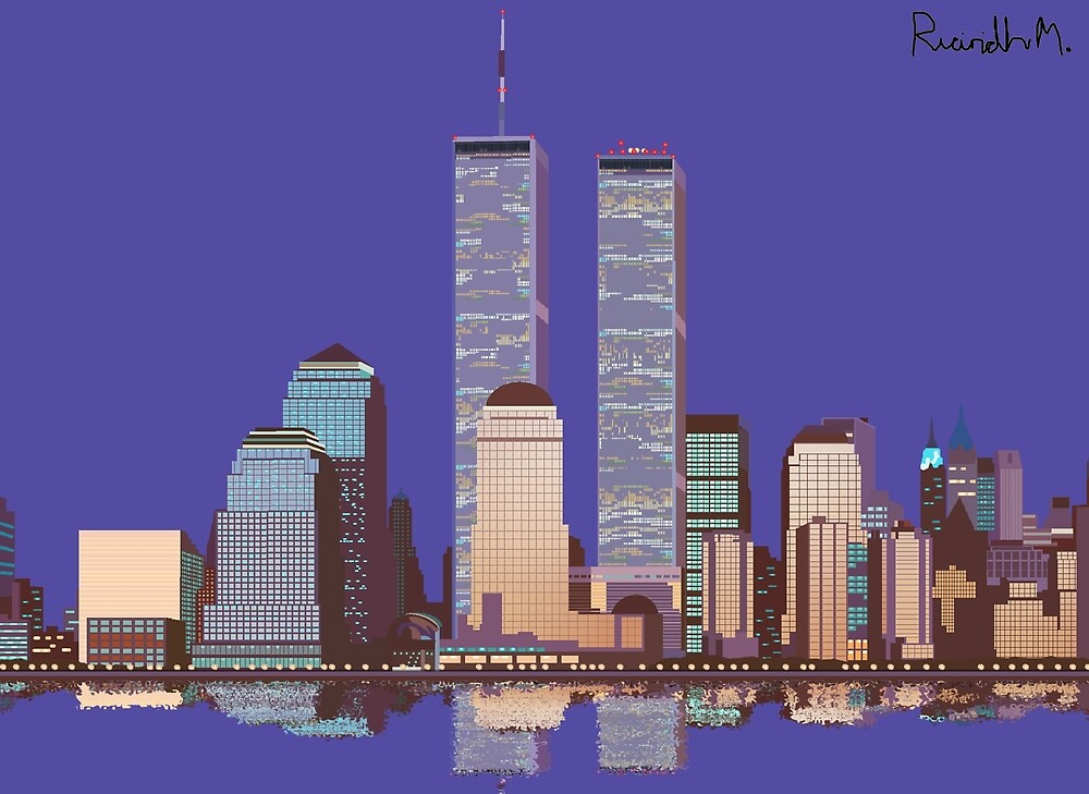 Memoirs of the World Trade Center by Rorymacve