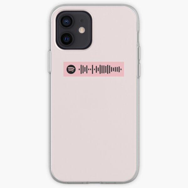girls by girl in red: Spotify Code iPhone Soft Case