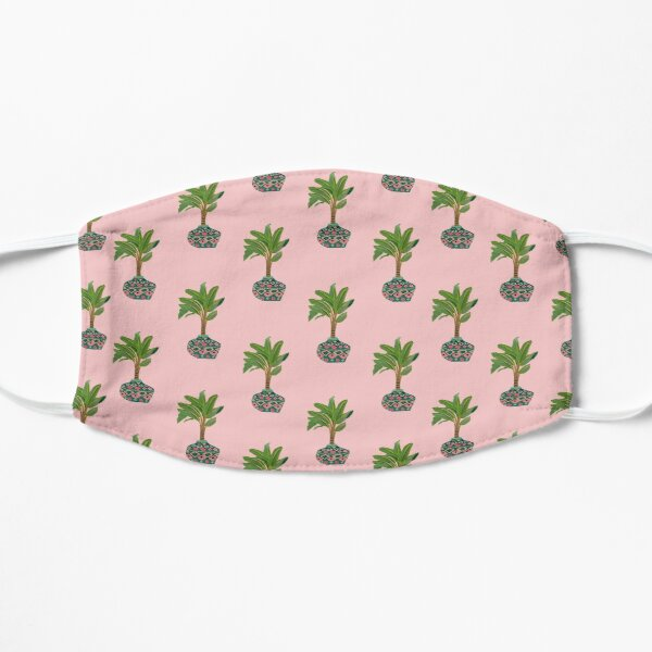 Sunday Palms Flat Mask