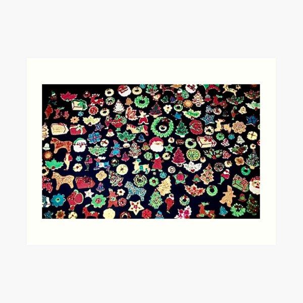 175 Christmas Cookies Art Print