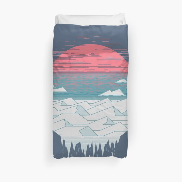 The Great Thaw Duvet Cover