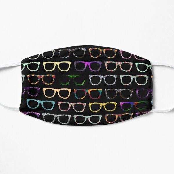 Retro Glasses Hipster Pattern Mask