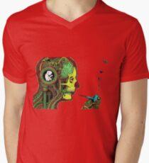 graphic Men's V-Neck T-Shirt