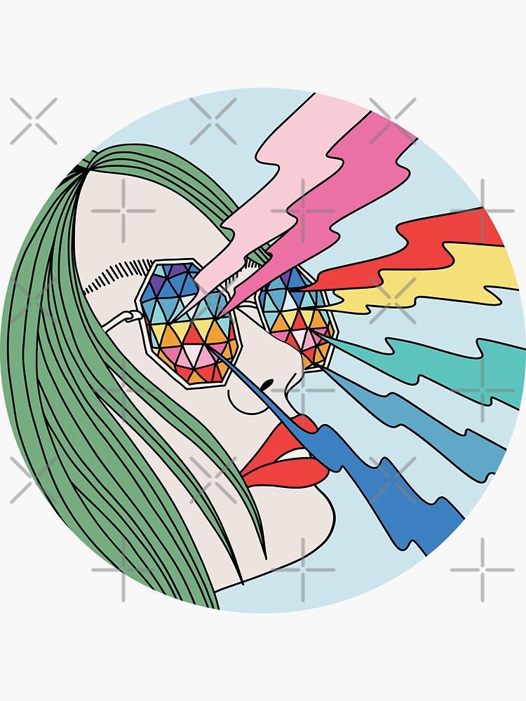 Rainbow glasses by Elebea by elebea