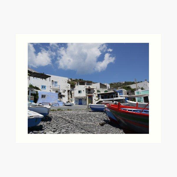 Pecorini A Mare, Aeolian Islands  Art Print