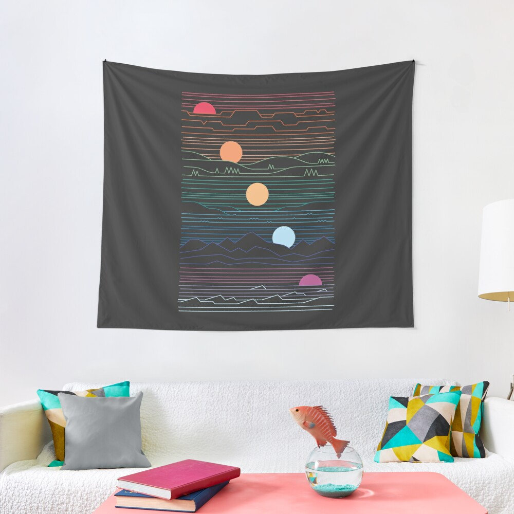 Many Lands Under One Sun Tapestry