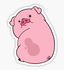 Waddles the Pig Sticker