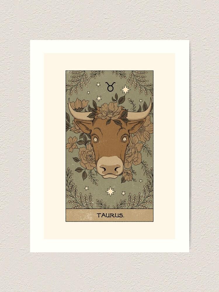 Alternate view of Taurus Art Print