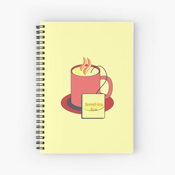 Sereni-Tea Spiral Notebook