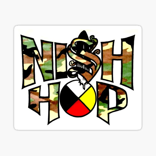 Nish Hop Logo Sticker