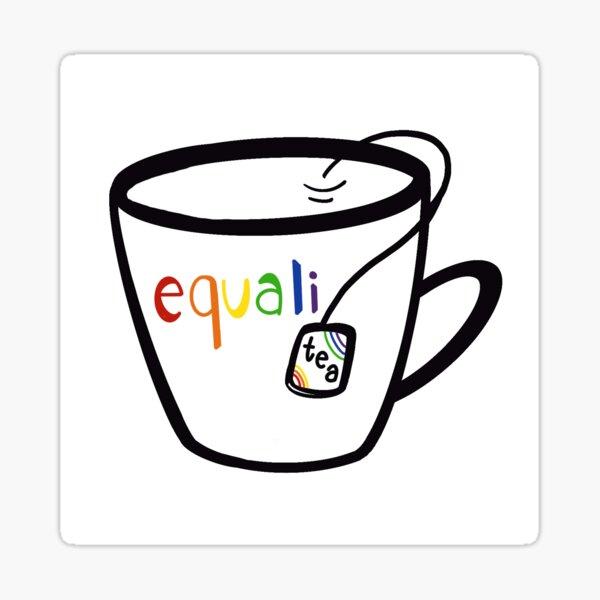 Equalitea Glossy Sticker