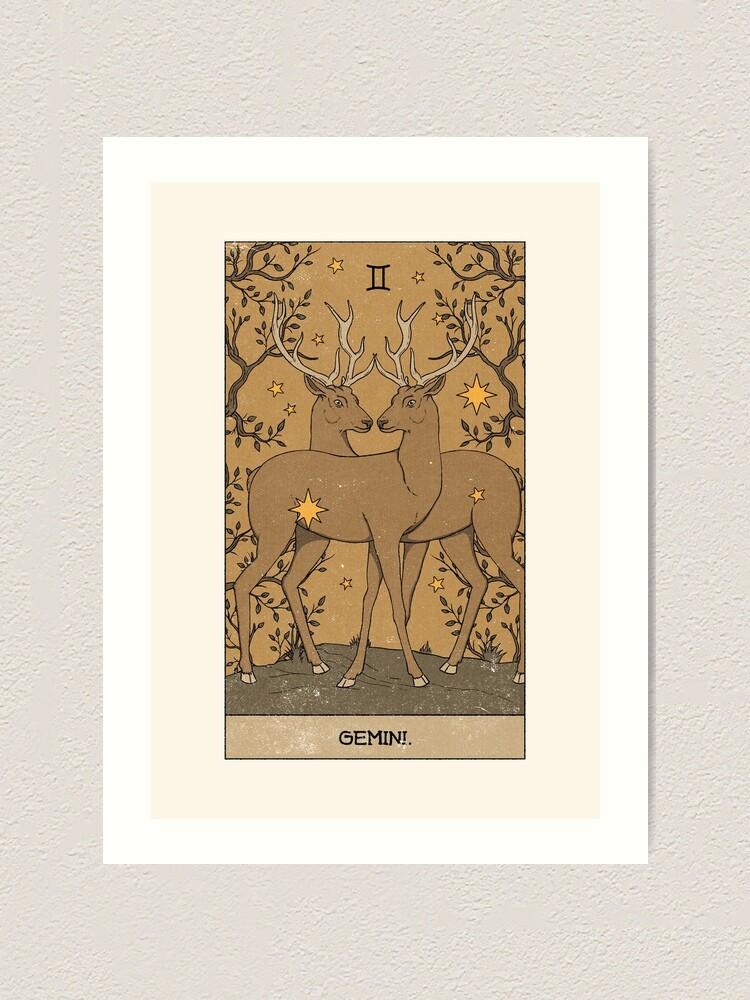Alternate view of Gemini Art Print