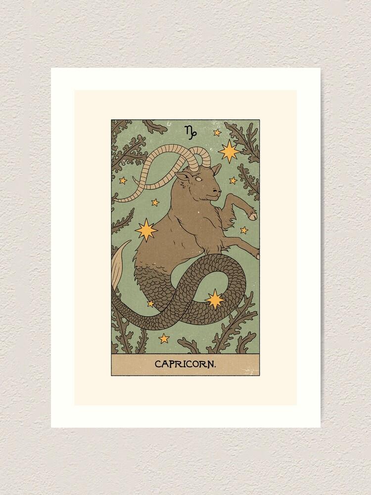 Alternate view of Capricorn Art Print