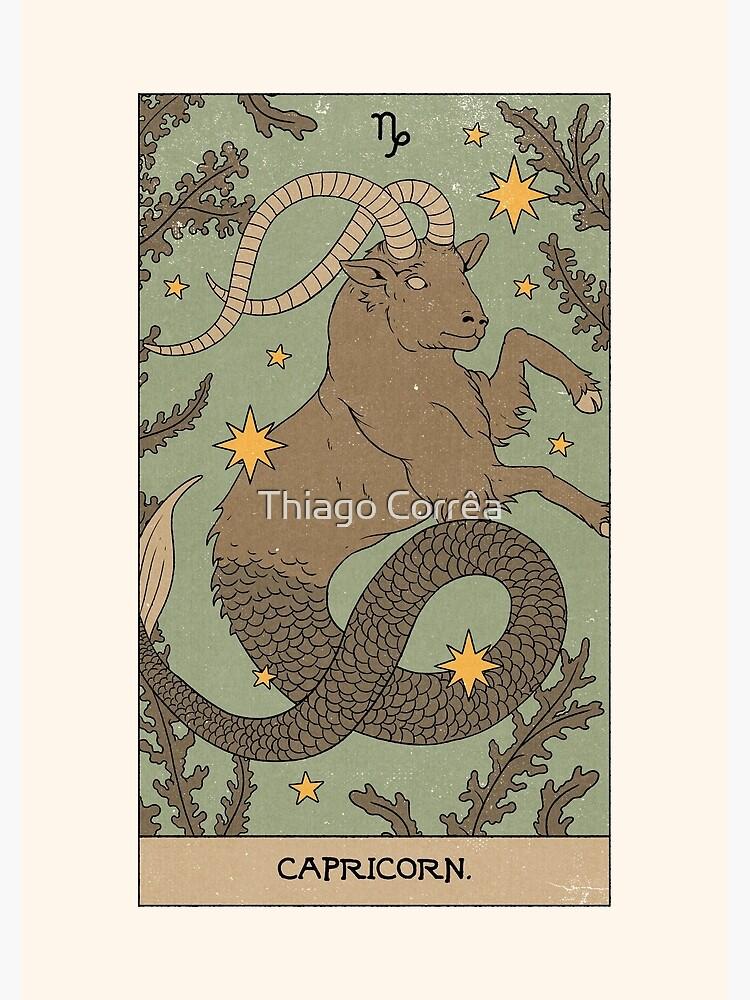 Capricorn by thiagocorream