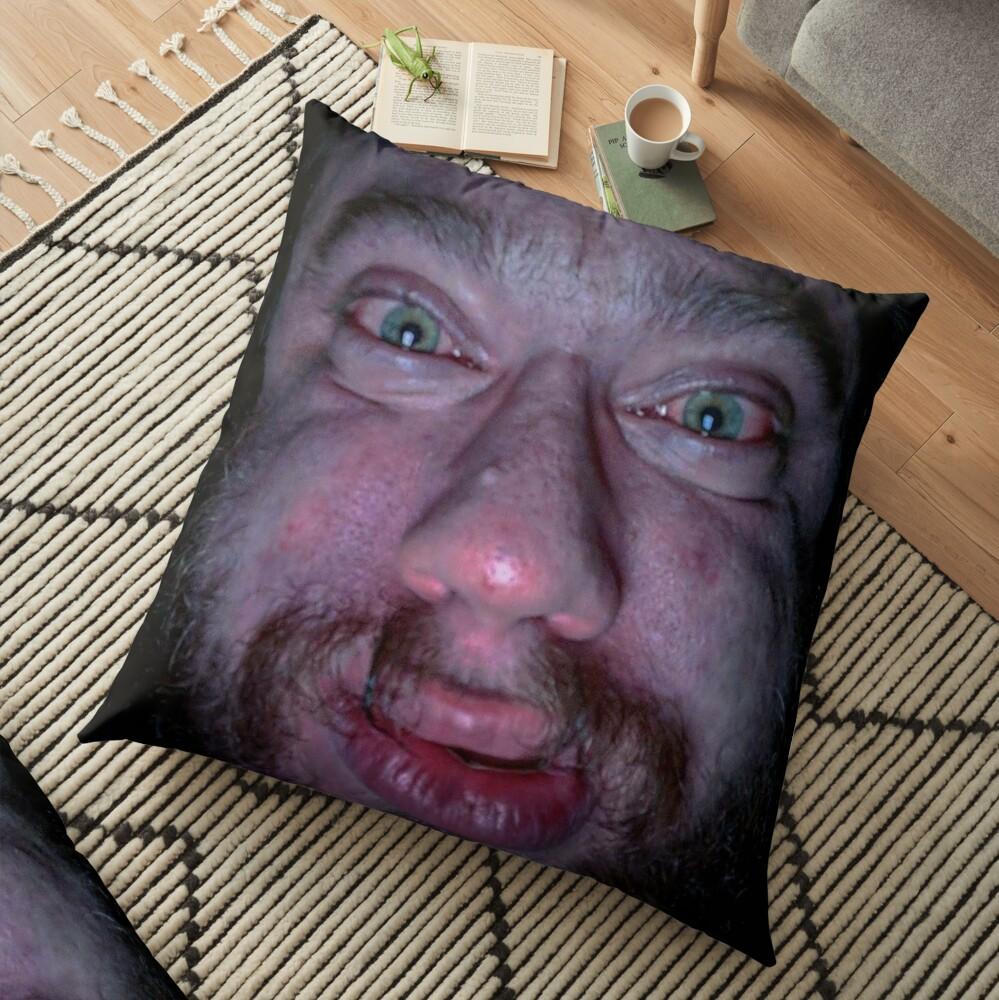 """Sam Hyde Face Meme "" Floor Pillow by Merch-On | Redbubble"