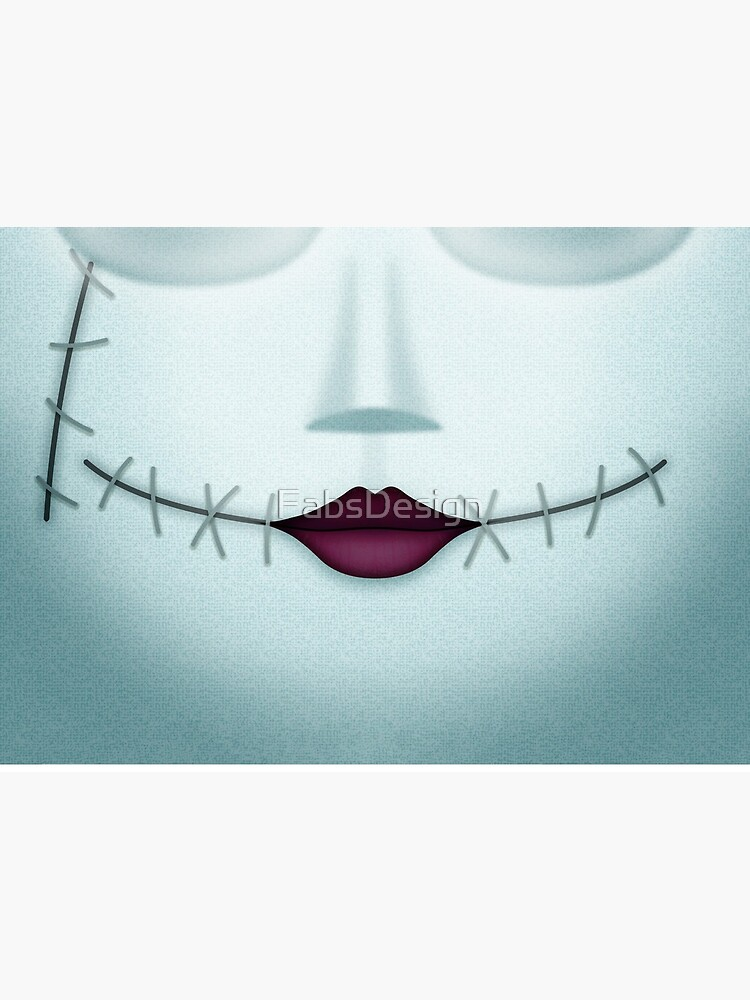 Sally Stitched Smile  by FabsDesign