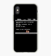 Nihilist Mario iPhone Case