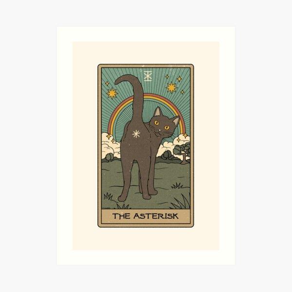 The Asterisk Art Print