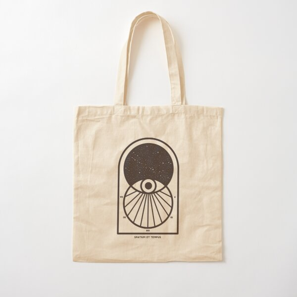 Space and Time Cotton Tote Bag