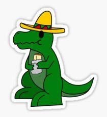 Tyrannosaurs Mex Sticker