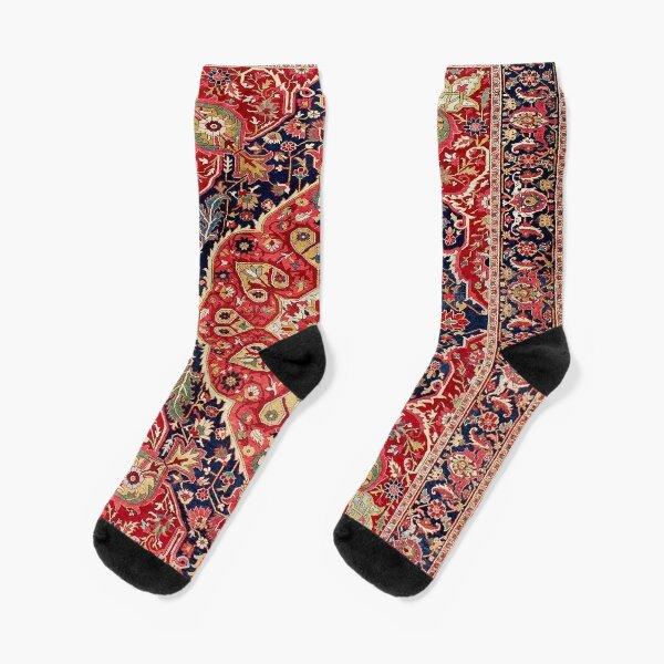 Vintage Antique Persian Carpet Socks